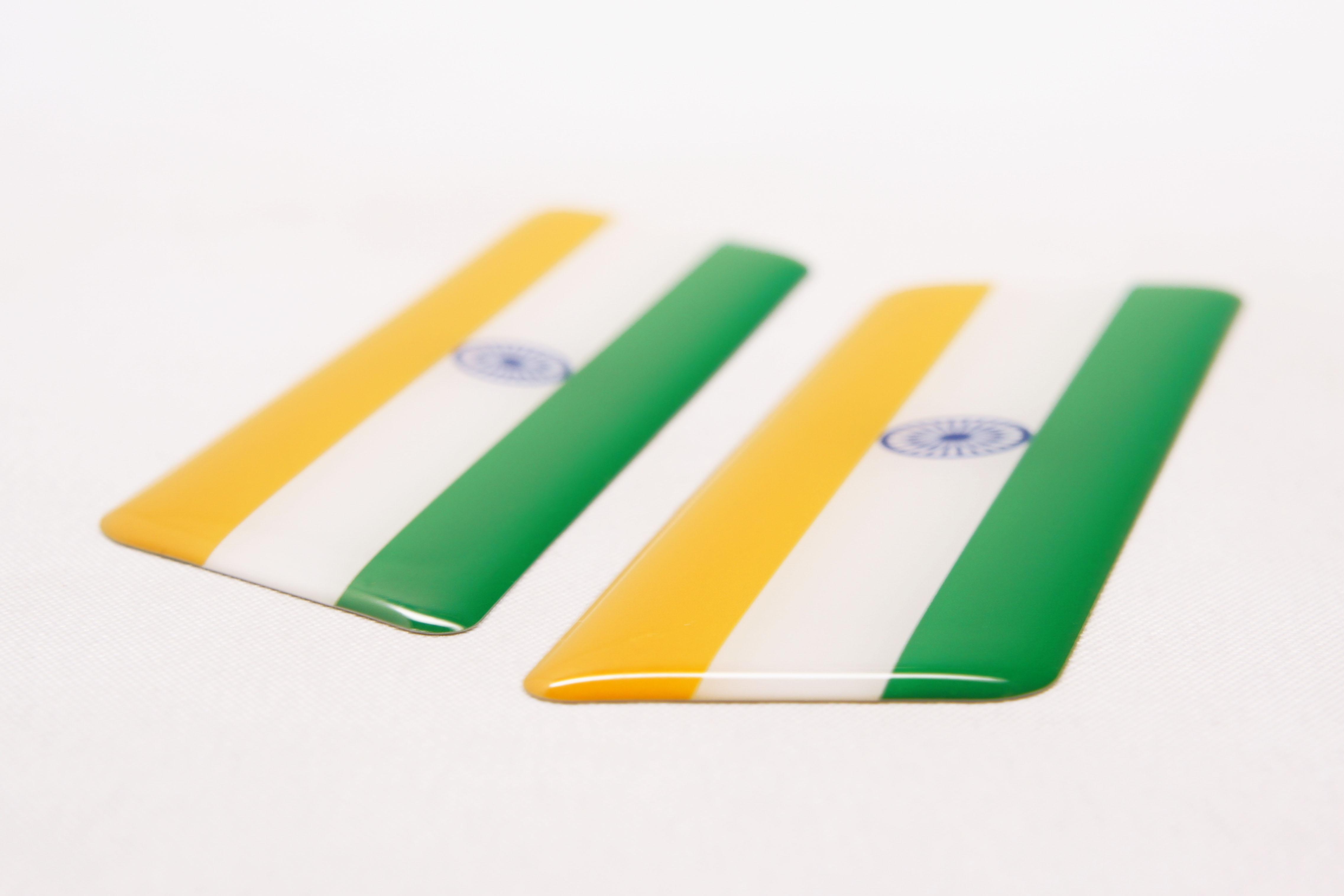 世界の国旗 アジア・オセアニア地区 厚みイメージ