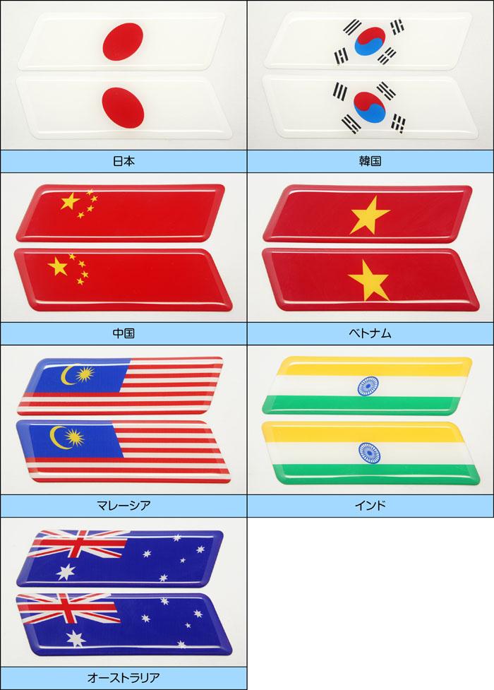 世界の国旗 アジア・オセアニア地区 一覧