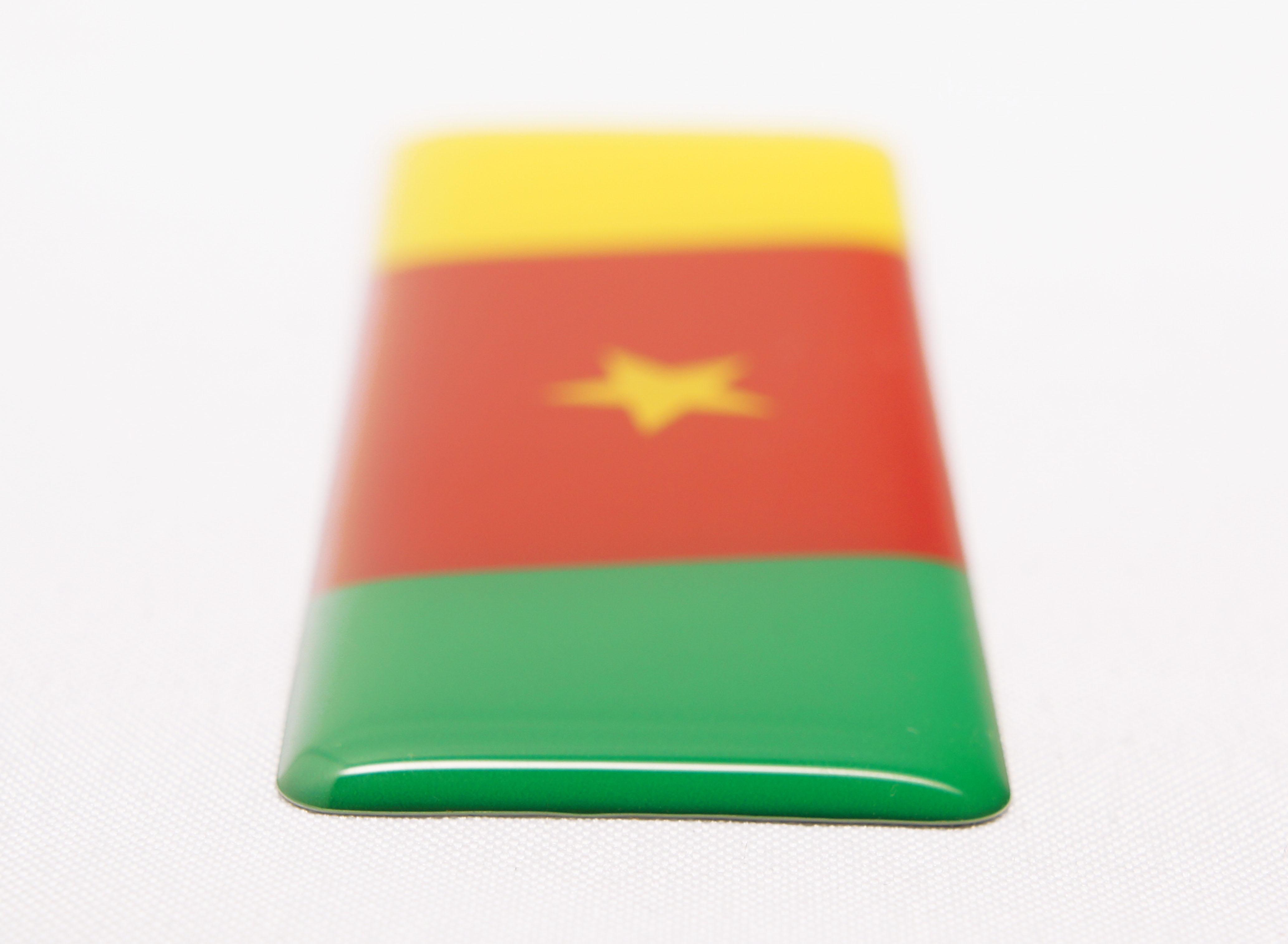 世界の国旗アフリカ地区 厚みイメージ
