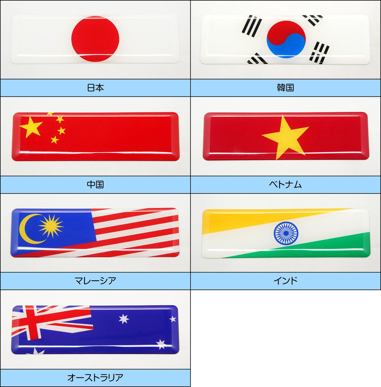 世界の国旗アジア・オセアニア地区 一覧