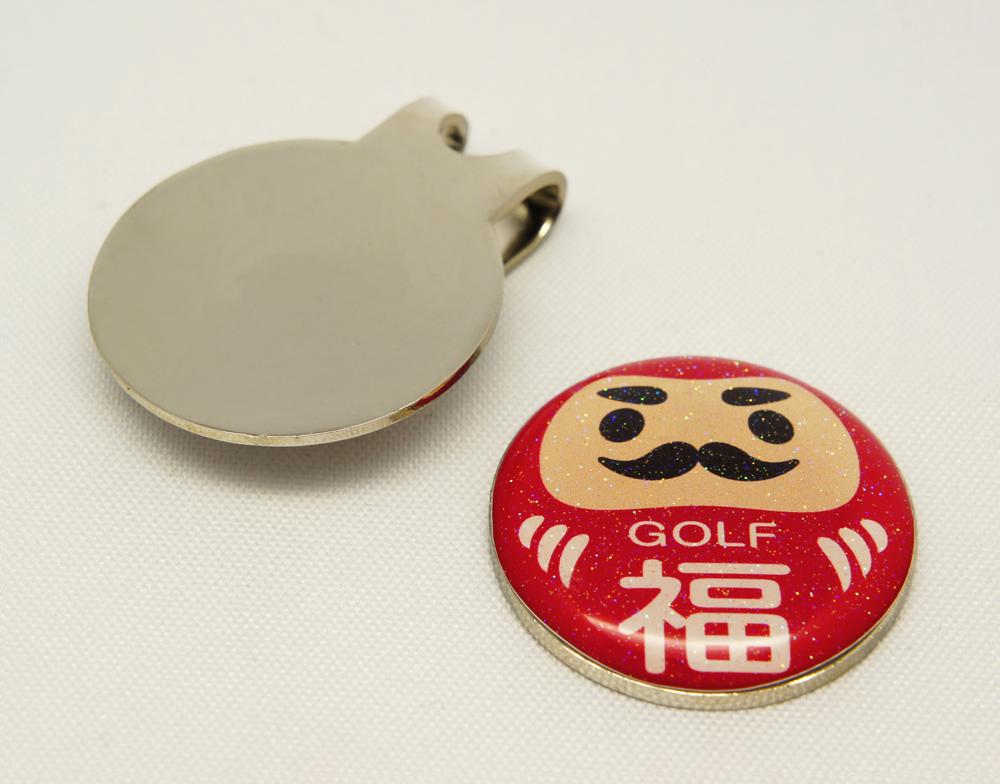 だるまゴルフマーカー