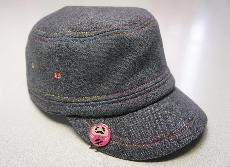 帽子に着けた使用イメージ